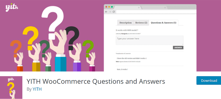 YITH WooCommerce Questions and Answers WordPress Plugin