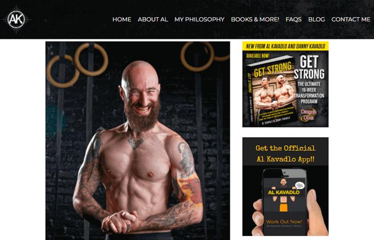 AL-Kavadlo-Website personal profile websites example