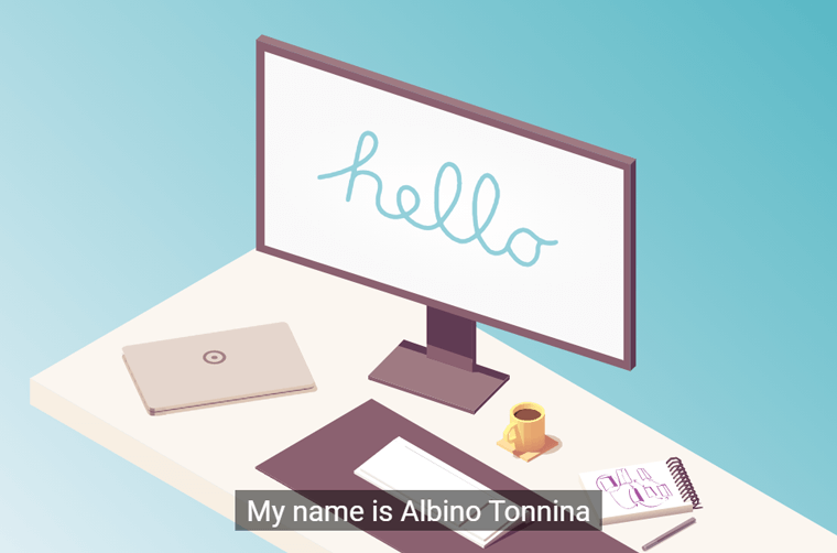Albino-Tonnina-Website professional website