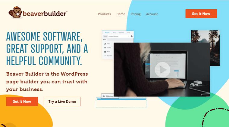 Beaver Builder- Page Builder Plugin