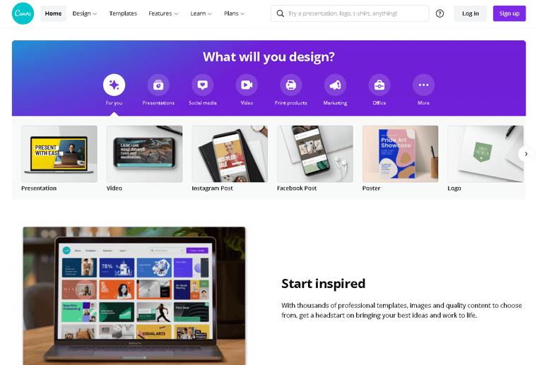 Canva Membership Website