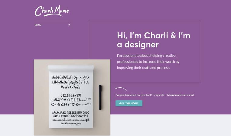 Charlie-Marie-Website