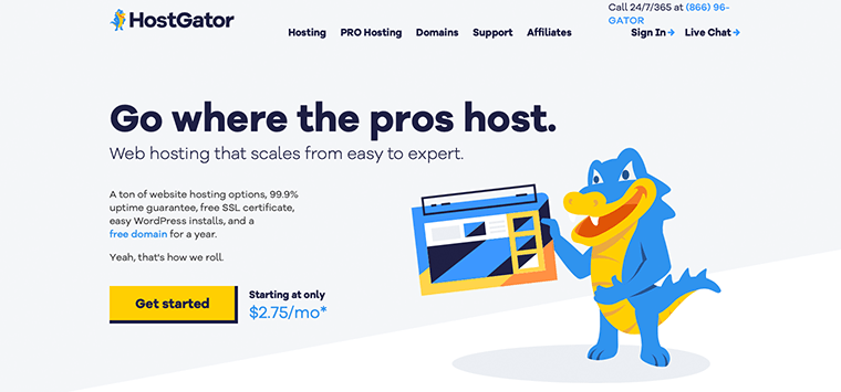 HostGator WordPress Hosting Service