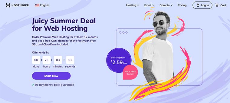 Hostinger WordPress Hosting Service