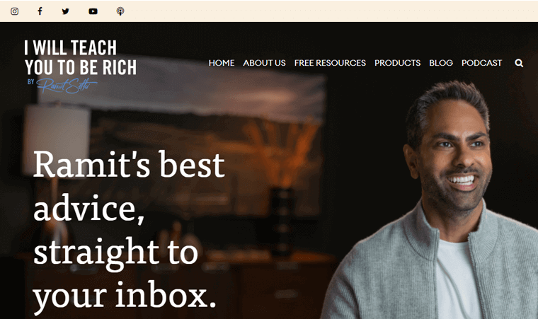 I-will-Teach-You-tO-be-Ricj-Websites finance advisor personal websites