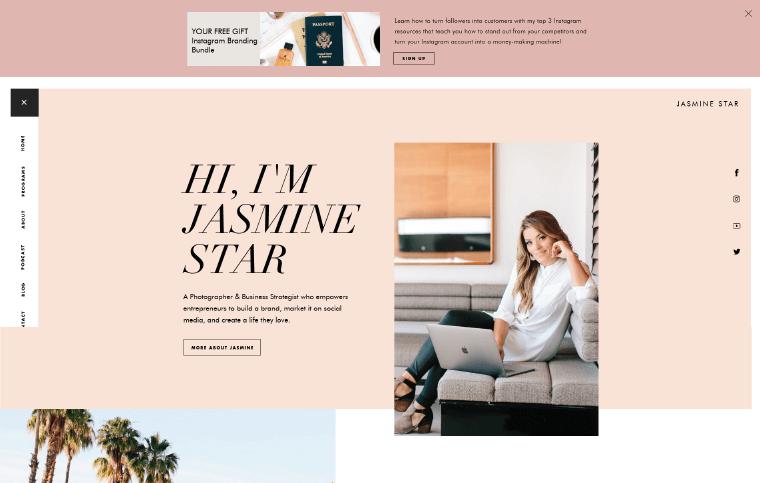Jasmine-Star-Website