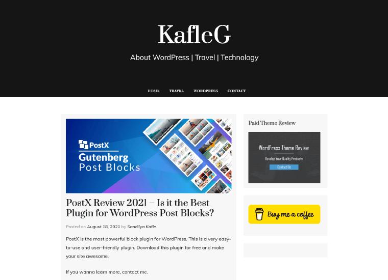 KafleG-Website good personal websites