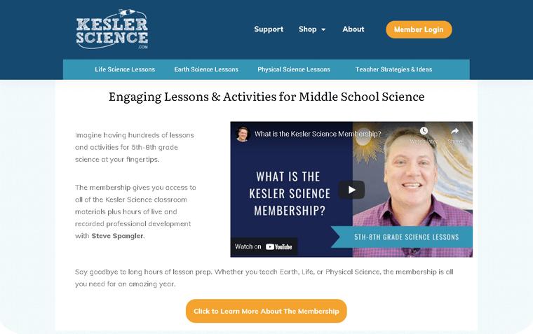 Kesler Science Membership Site