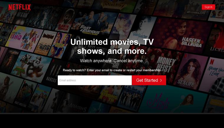 Netflix Membership Site Example