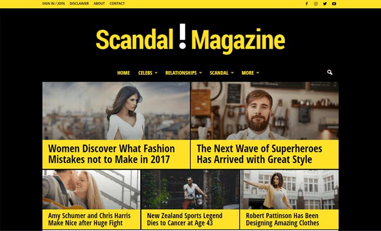 Newsmag WordPress digital magazine theme