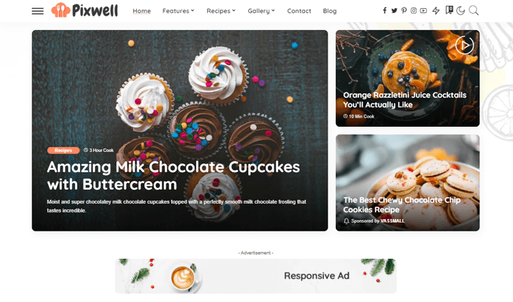 Pixwell Best WordPress Magazine Theme