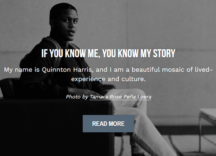 Quinnton-Harris-Website awesome personal websites