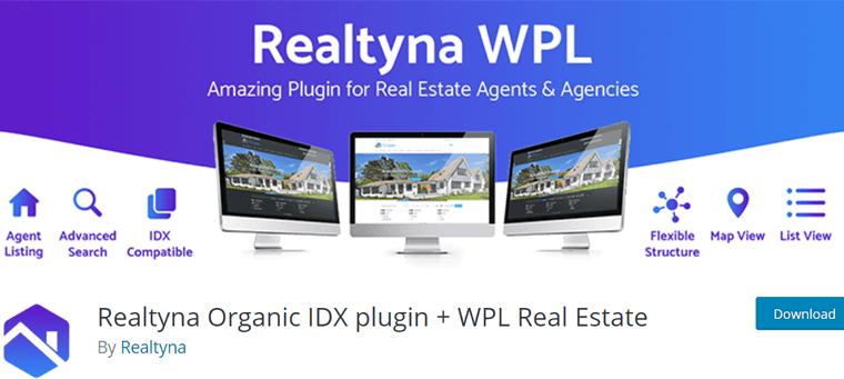 Realtyna Organic IDX Plugin