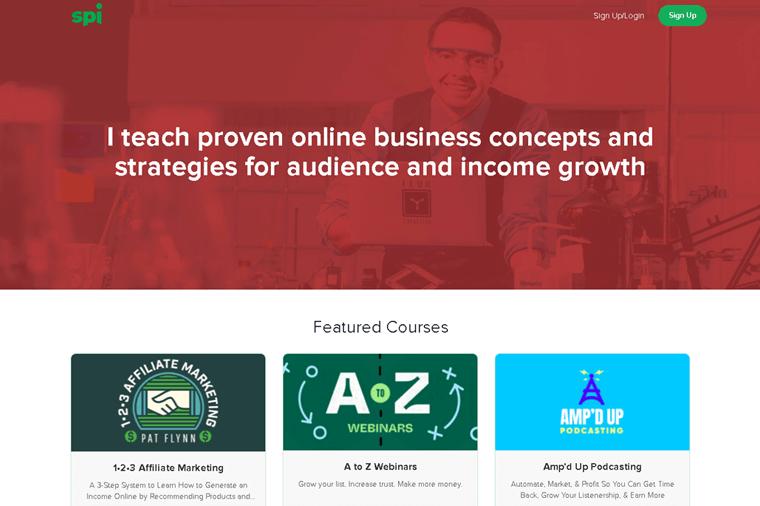 Smart Passive Income Courses Membership Website