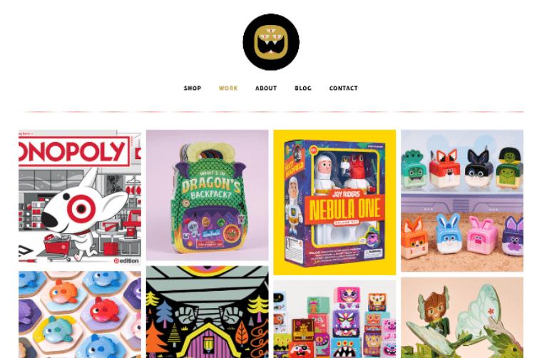 The-Beast-is-Back-Website personal portfolio website