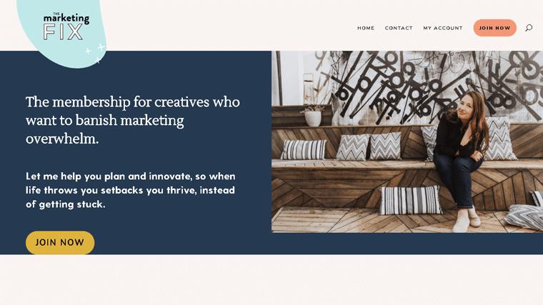 The Marketing Fix Membership Site
