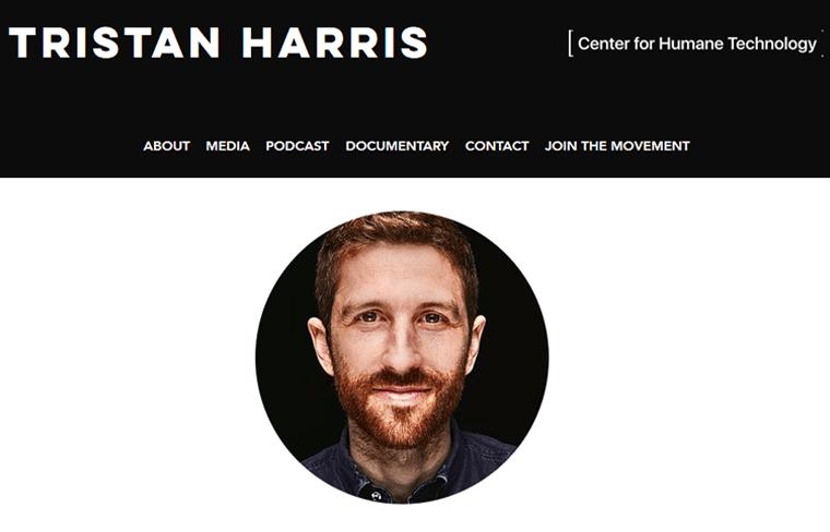 Tristan-Harris-Website best personal blog websites