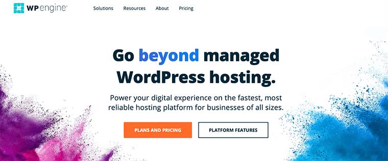 WP Engine WordPress Hosting Service