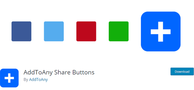 Add to Any Share Button WordPress Plugins