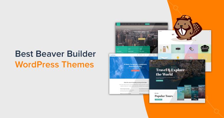 Best Beaver Builder WordPress Themes Handpicked