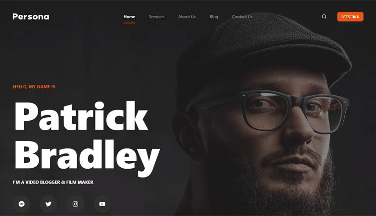 Blocksy Personal Website WordPress Theme