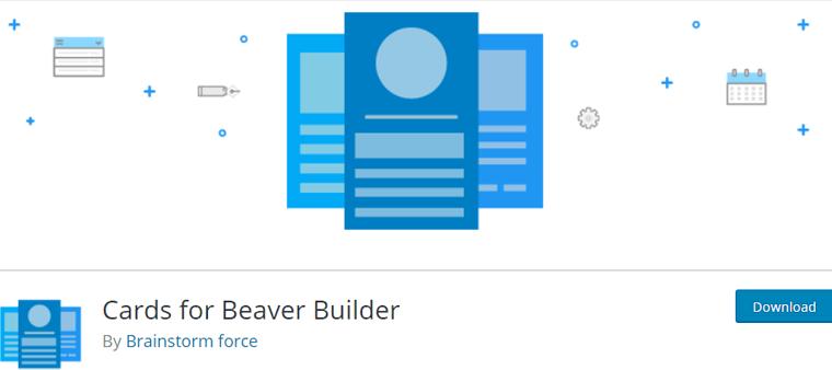 Cards for Beaver Builder