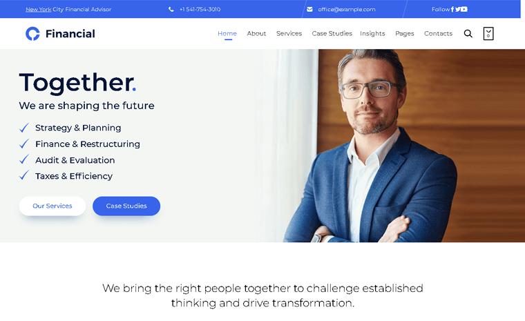 Consultancy Premium WordPress Theme
