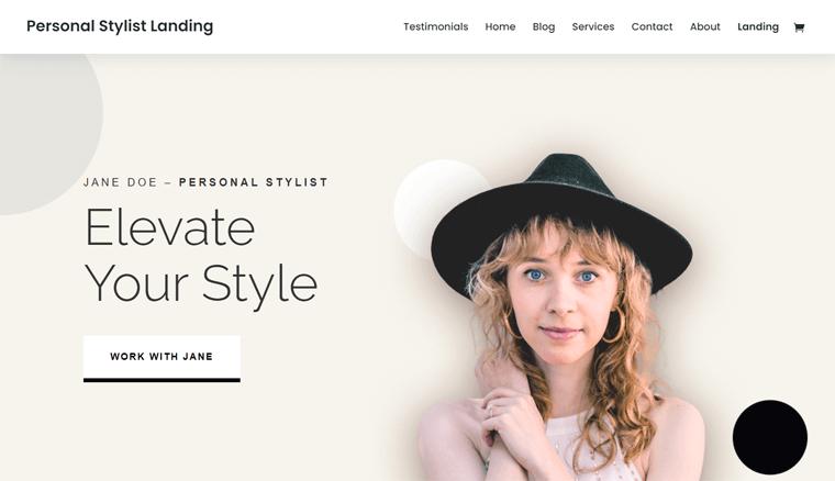 Divi Personal Styling WordPress Theme