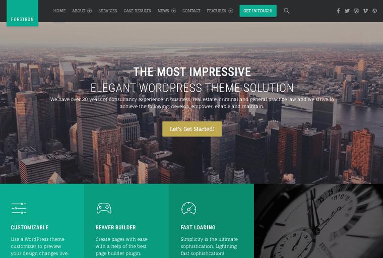 Forstron Premium WordPress Theme