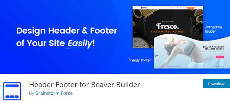 Header Footer for Beaver Builder