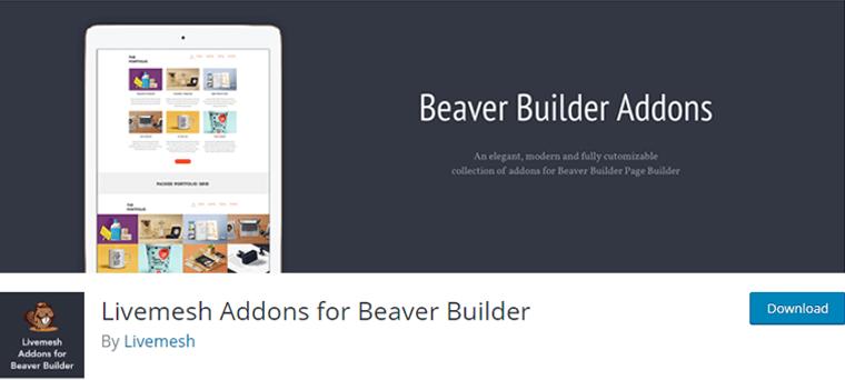 Livemesh Addons- Beaver Builder Addons