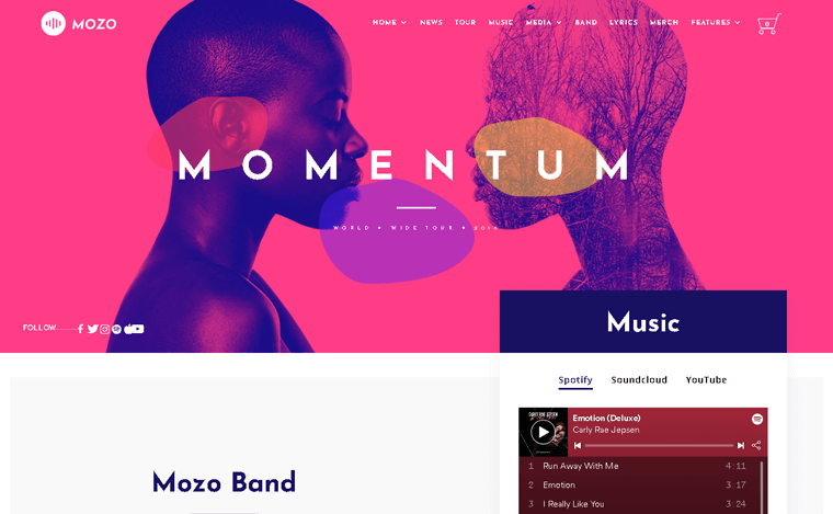 Mozo Premium WordPress Theme