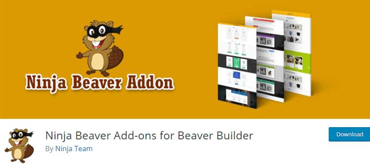 Ninja Beaver Addon for Beaver Builder