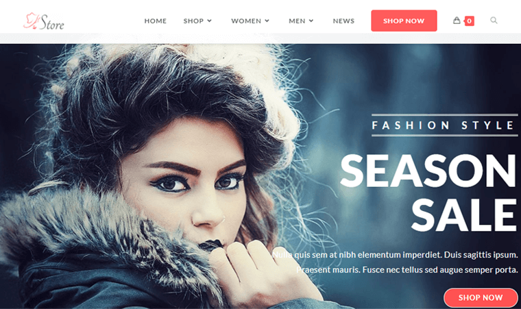 OceanWP for Landing Page