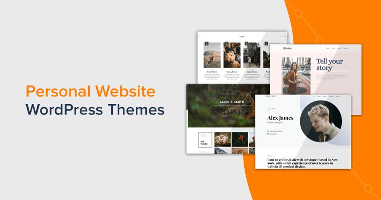 Personal Website WordPress Themes Handpicked