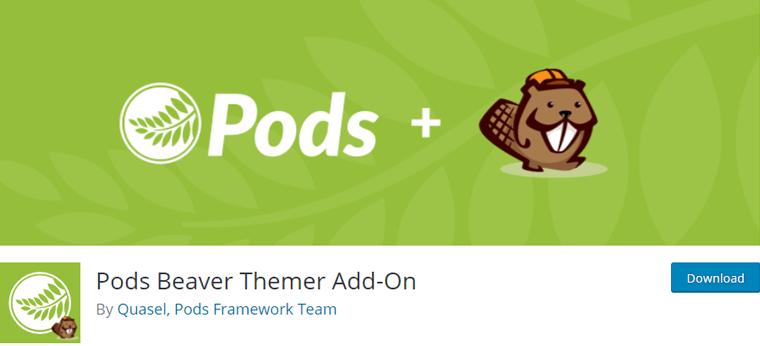 Pods Beaver Themer Addon
