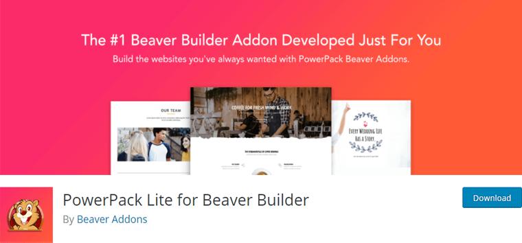 Powerpack Lite for Beaver Builder