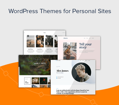 WordPress Themes for Personal Sites