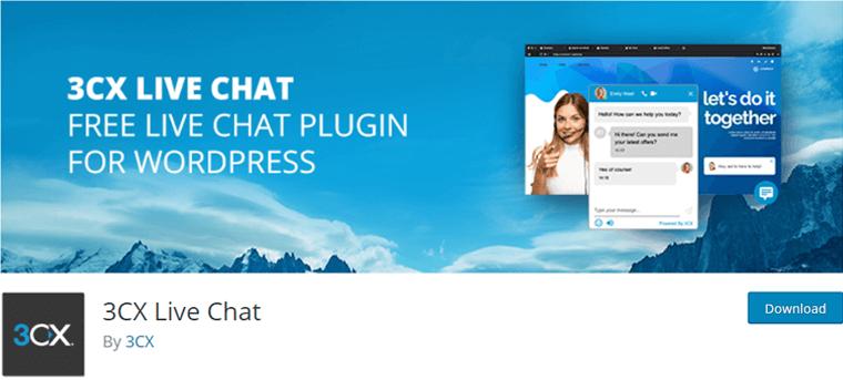 3CX Live Chat WordPress Plugin