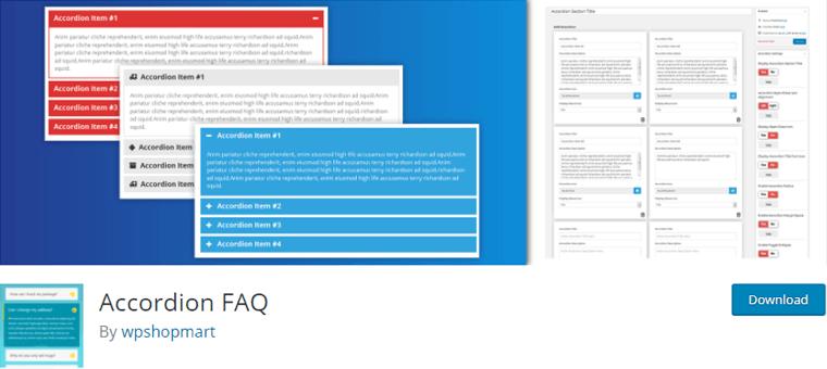 Accordion-FAQ Plugin