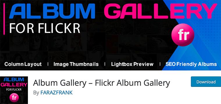 Flickr Album Gallery