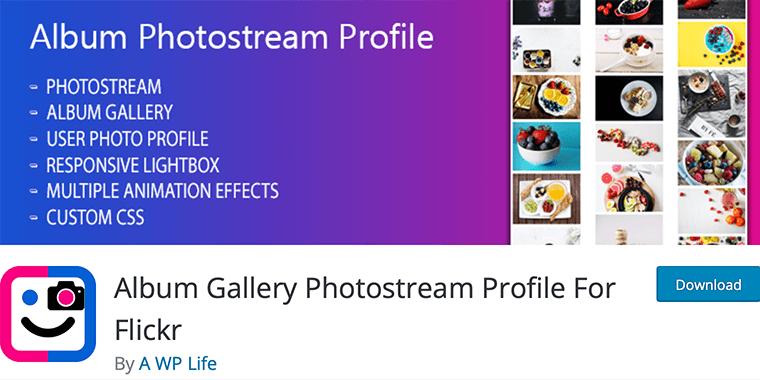 Album Gallery Photostream Profile Flickr