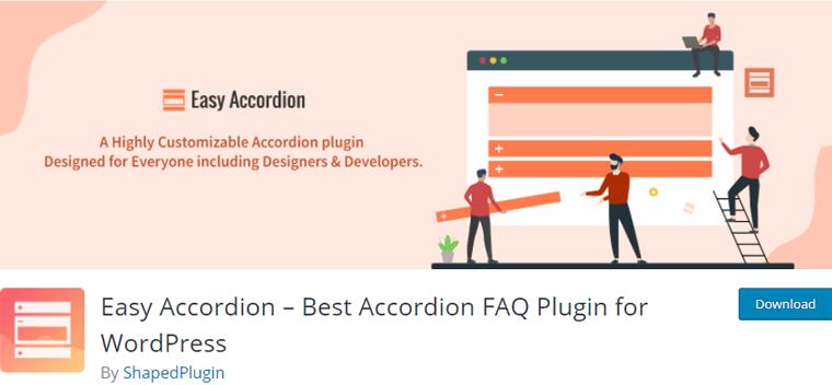 Easy-Accordion FAQ Plugin