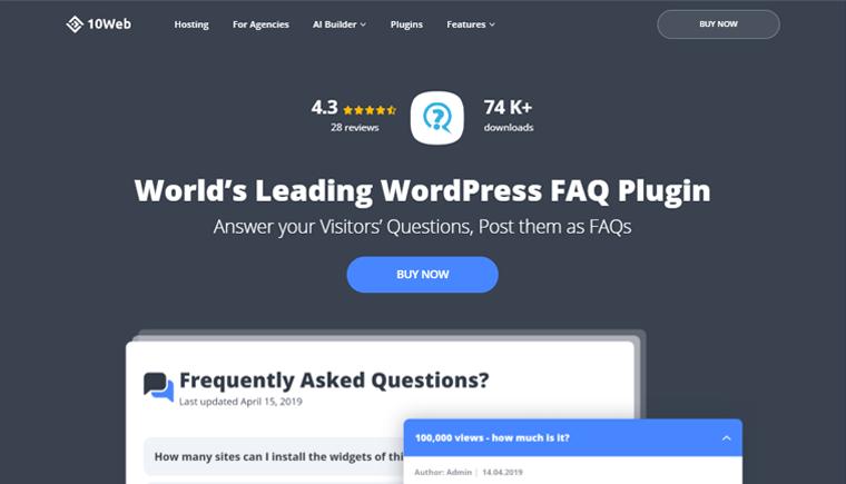 FAQ-Plugin-by-10-Web