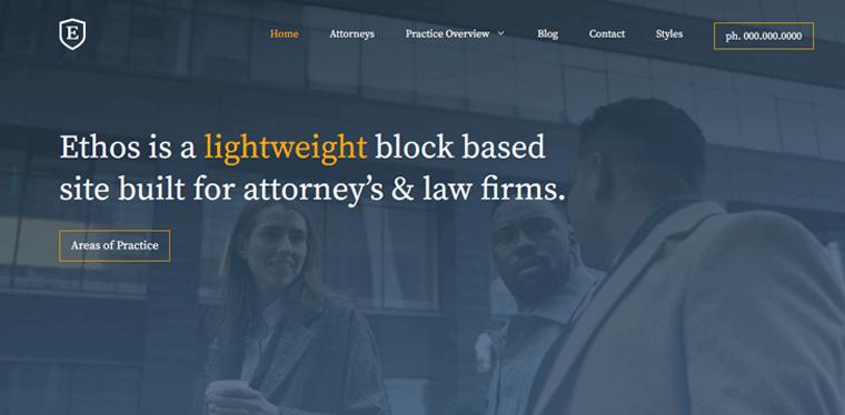 GeneratePress-Theme lawyer wordpress theme
