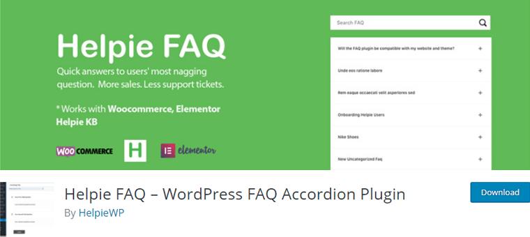 Helpie-FAQ