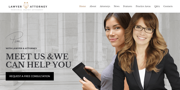 Lawyer-and-Attorney-Theme