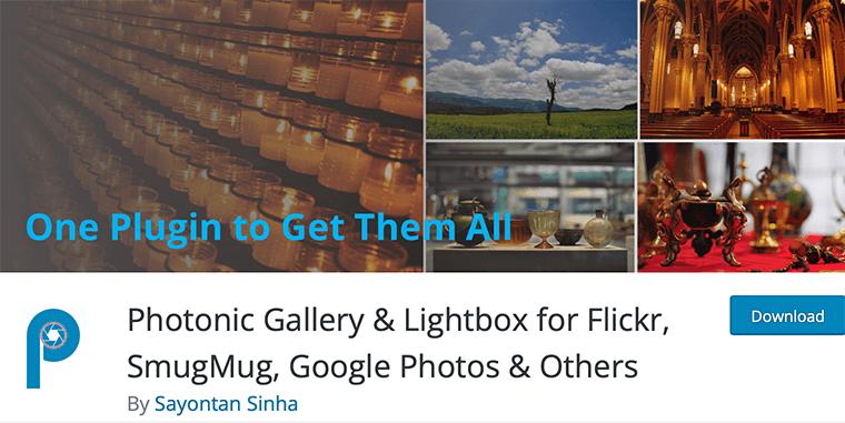 Photonic Gallery Flickr Plugin