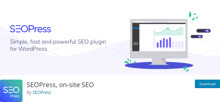 SEOPress WordPress On-Site SEO Plugin Free