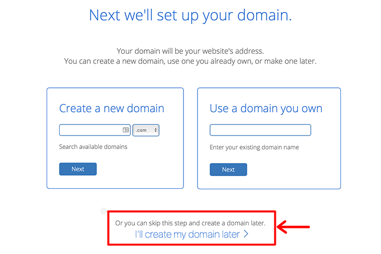 Setup Your Domain